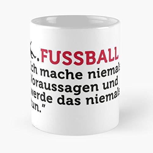 Football Quotes I Never Make Predictions Classic Mug Best Gift Ceramic 11oz Coffee Mugs