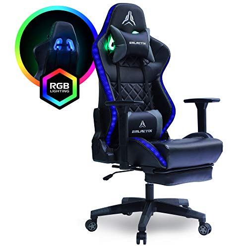 Galactix Astro Unique RGB Dual Lighting Gaming Chair Ergonomic Computer...