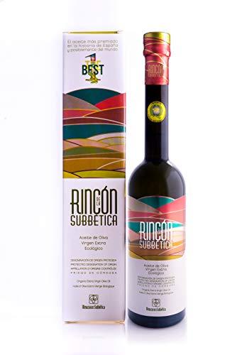Rincon de la Subbetica - Aceite de oliva virgen extra ecológico (pack 6 botellas de 500ml)