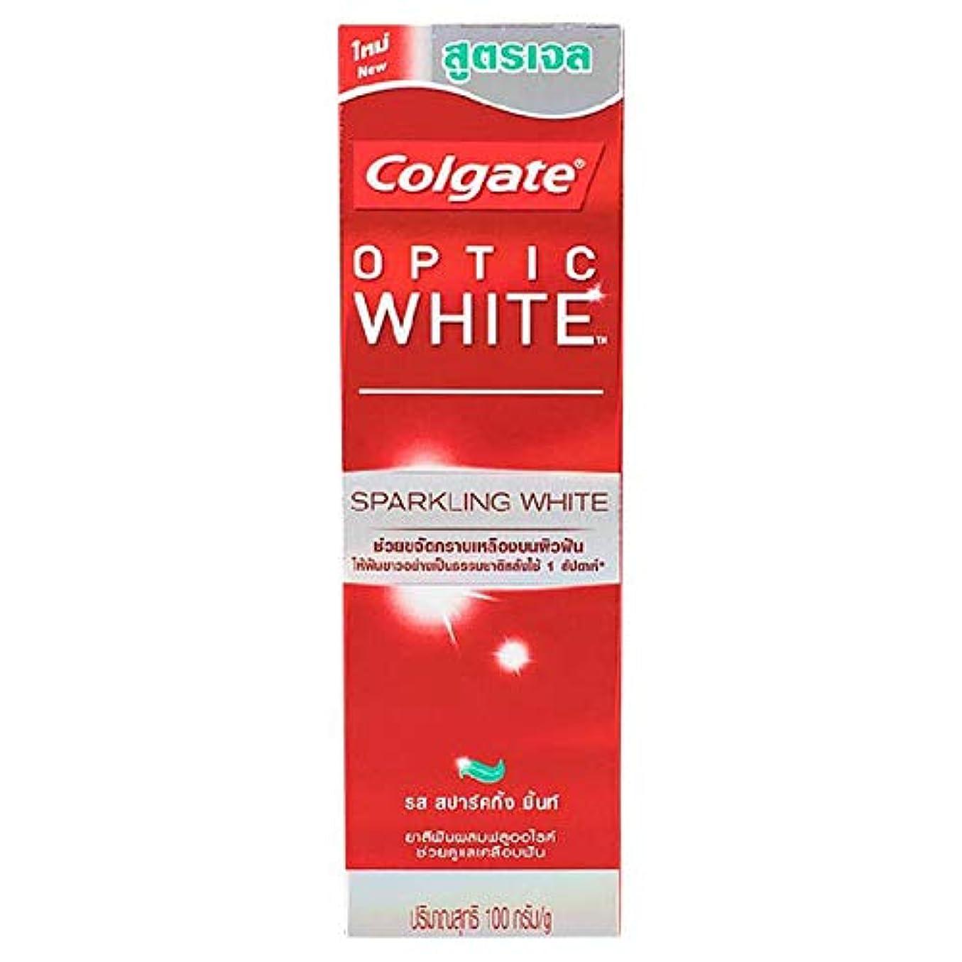 放課後拡大する震え(コルゲート)Colgate 歯磨き粉 「オプティック ホワイト 」 (スパークリングホワイト)
