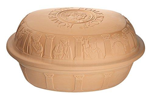 Romertopf Reston Lloyd Clay Roaster Made in Germany, XLG Turkey, Terracotta