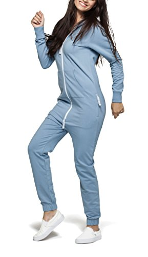 OnePiece Unisex Original Jumpsuit, Blau (Dusty), 42 (Herstellergröße: XL) - 6
