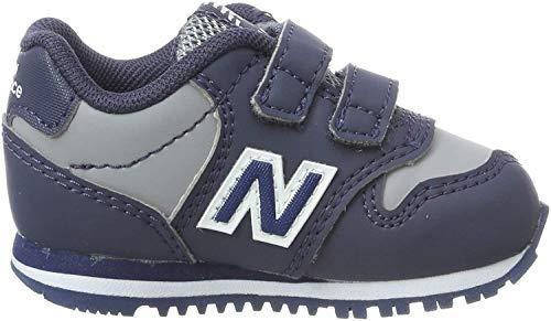 New Balance KV500VBI - Zapatillas de Deporte Unisex Niño, Gris/Azul Oscuro, 21...