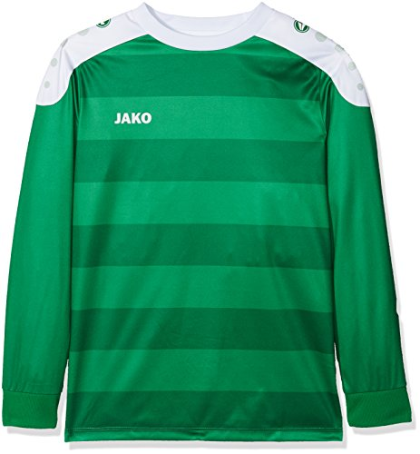 JAKO Kinder Fußballtrikots LA Trikot Celtic, Sportgrün/Weiß, 140