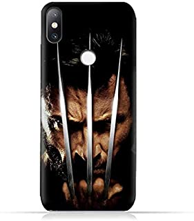 Xiaomi Mi Mix 2S TPU Soft Protective Silicone Case with Wolverine Design
