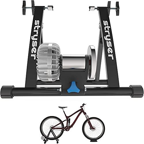Rodillo para Bicicleta de fluidos - Entrenamiento en Interior con Bicicletas de montaña y Carretera, para Ruedas de 26 a 29 Pulgadas
