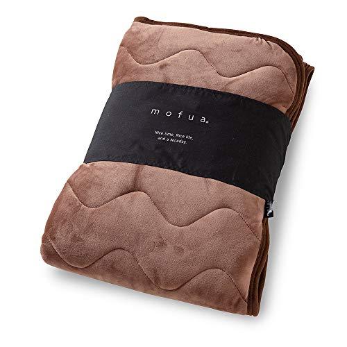mofua ( モフア ) 敷きパッド うっとりなめらかパフ シングル ブラウン 55820106