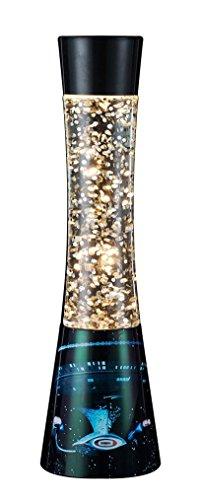 CBS Fox Star Trek TNG Enterprise Scence Glitter Lamp, Black/Gold/Silver