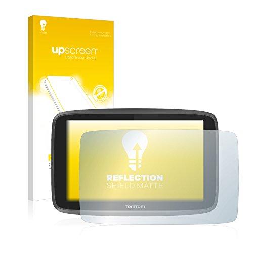 upscreen Entspiegelungs-Schutzfolie kompatibel mit Tomtom Go 6200 – Anti-Reflex Bildschirmschutz-Folie Matt