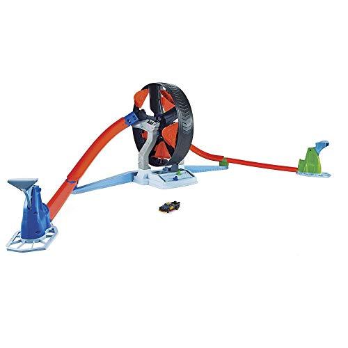 Hot Wheels GJM77 - Super Stunt Rad Spielset für Kinder ab 5 Jahren
