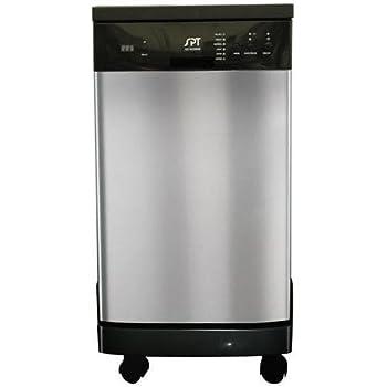 "SPT SD-9241SS: Energy Star 18"" Portable Dishwasher - Stainless Steel"