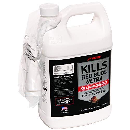 JT Eaton 218-W1G Kills Bed Bugs Ultra Spray, 1 Gallon, White
