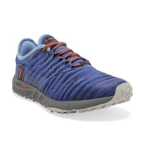 Brooks Womens PureGrit 8 Running Shoe, Amparo/Bel Air Blue/Pearl, 37.5 EU