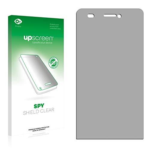 upscreen Anti-Spy Blickschutzfolie kompatibel mit Archos 50 Helium 4G Privacy Screen Sichtschutz Bildschirmschutz-Folie