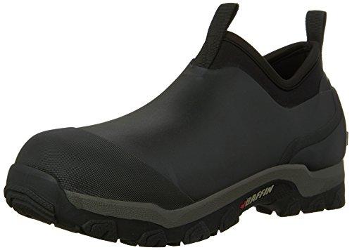 Baffin Men's Marsh Mid Rain Boot,Black,13 M US