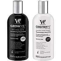 Watermans Rápido Hair Growth champú + acondicionador, de Crecimiento Rápido del Cabello, Tratamiento del Cabello para Evitar la Caída del Pelo, lujo para Cuidado del Cabello