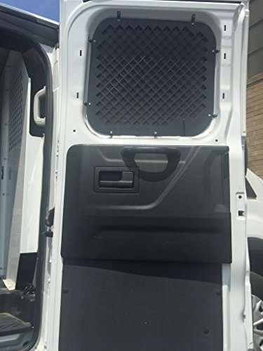 2016 +Compatible with Ford Transit Window Screens for Low Roof Side swinging cargo doors.