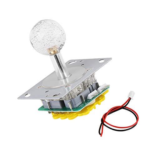idalinya 8-Wege-zu-4-Wege-LED-Arcade-Spielteile, bunter Joystick, für Spiele für Bedienfelder