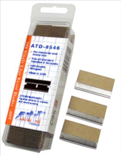 "Price comparison product image ATD Tools 8546 .009"" Single Edge Razor Blade"