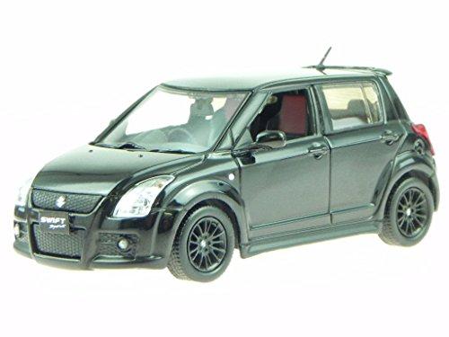 Suzuki Swift Sport 2011 schwarz Modellauto 43051 T9 1:43