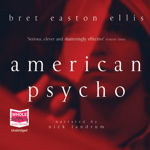 American Psycho audiobook cover art