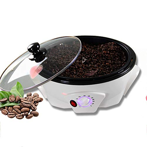 GWQDJ Elettrica Macchina di Tostatura di Chicchi di caffè, Tostatori di Caffè-220V/1200W