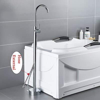 Sale!! KAKDA-STORE Bathtub Faucets,Bibcocks, Antique Bathtub Floor Stand Faucet Mixer Single Handle ...