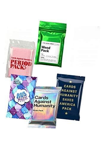 Cards Against Humanity Weed & Period & Pride & Ass Pack & Saves America