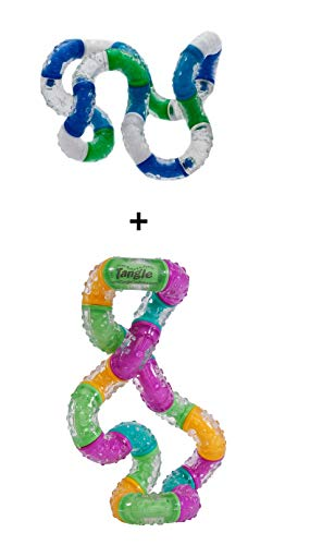 Tangle Relax + BrainTools Think Therapy Variant 2 - Combo 2-Pack - Fidget
