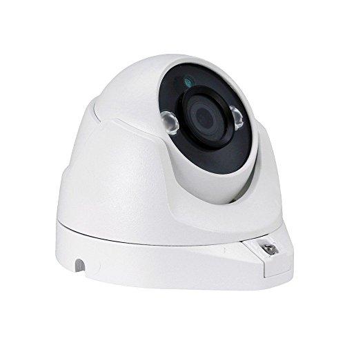 HDVD HXC8EW3W 2.4MP 4-IN-1 (AHD, HD-TVI, HD-CVI, 960H) CCTV Security Surveillance HD Night Vision 2pcs IR IR Range Up To 30M 1080P Full HD Outdoor/Indoor WDR Dome Camera 3.6mm Lens DC 12V
