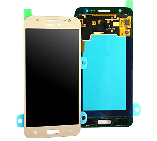 Original Samsung Galaxy J5 2015 SM J500F J500 LCD AMOLED Display Touchscreen Digitizer Einheit OCTA Gold GH97-17667C
