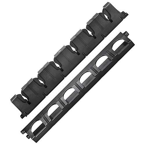 Kamenda - 2 soportes de caña de pescar soporte de pared vertical,...