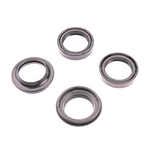 Fourchette Simmer oreilles FSD Kit de 002 35 x 48 x 11 + Bouchons anti-poussière pour XL 125 V Varadero JC32 01–10