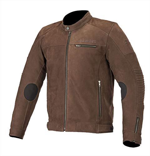 Alpinestars Chaqueta moto Warhorse Leather Jacket Tobacco Brown, Marrón, 54