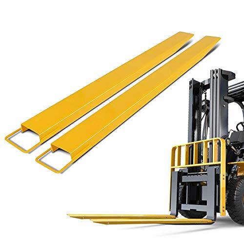 Morffa 152cm Gabeln Gabelstapler Länge Doppelhalterungen Gabeln Palettenregal für Traktor