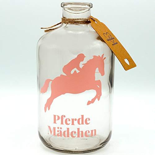 Vanilalu - Große Spardose für Münzen - Geschenkidee für Pferde Mädchen - Geschenk zum Geburtstag, als Reiterkasse & für Pferdefreunde