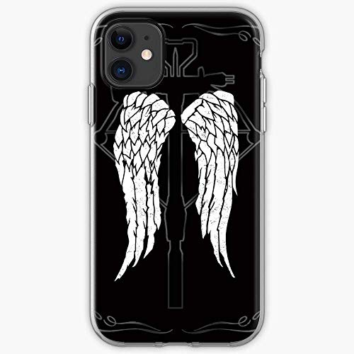 Phone Case Dixon Norman Wings Zombie Reedus Zombies Crossbow Walkers Daryl Walker Compatible with iPhone 12 11 X Xs Xr 8 7 6 6s Plus Mini Pro Max Case