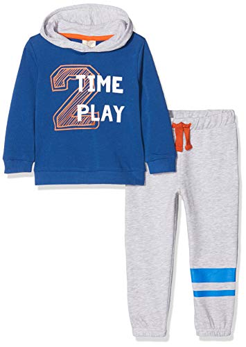 ZIPPY baby-jongens jogging set fleece klasse blauw joggingpak