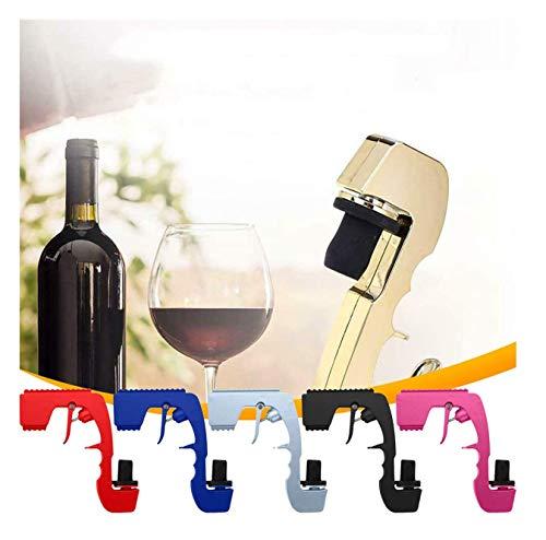 Dispensador de vino con tapón de champán, botella de cerveza, eyector de cerveza, pistola de coqueteo para bodas, fiestas, discotecas, barra de herramientas Bubbly Blaster