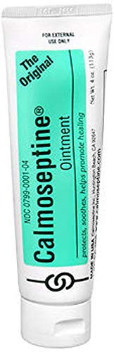 Calmoseptine Moisture Barrier Skin Ointment - 4 oz, Pack of 2