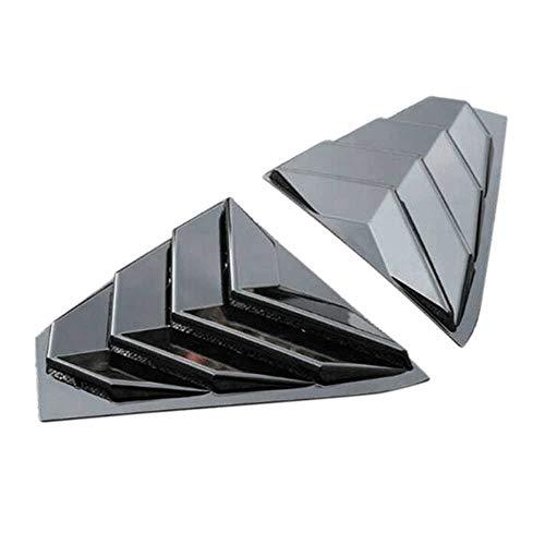 TPHJRM Auto hinten Dreieck Jalousien Entlüftung Seitenfensterabdeckung, für Nissan Altima 2019 2020