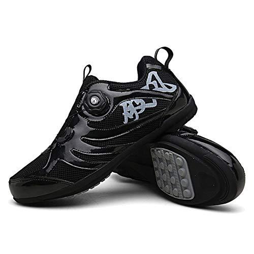 JINGJIE - Zapatillas de ciclismo, ligeras, resistentes al desgaste, resistentes a pinchazos, para deportes al aire libre, montañismo, D, 39EU