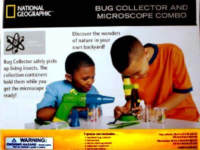 NATIONAL GEOGRAPHIC Bug Collector and Microscope Combo