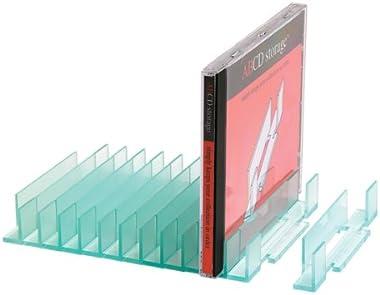 Système de stockage de CD – Rangement alphabétique de CD (contient 60 CD)