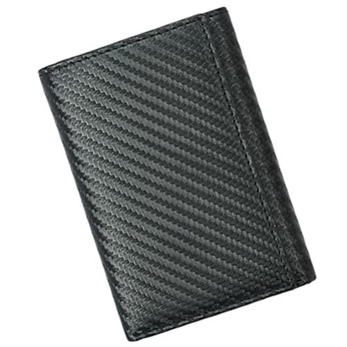 SOIMISS Multi- Funcional Cartera de Hombre Titular de Crédito Portable Monedero Cartera Titular