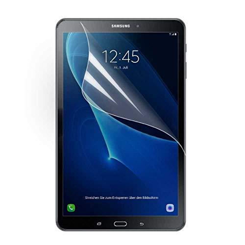 jbTec® Displayschutzfolie entspiegelt passend für Samsung Galaxy Tab A 10.1 2016 / SM-T580 Galaxy Tab A 10.1 LTE 2016 / SM-T585 - Displayschutz-Folie Schutzfolie Displayfolie