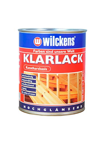 Wilckens Klarlack hochglänzend 750 ml Lack Decklack Kunstharzlack Kunstharz-Klarlack Lackfarbe