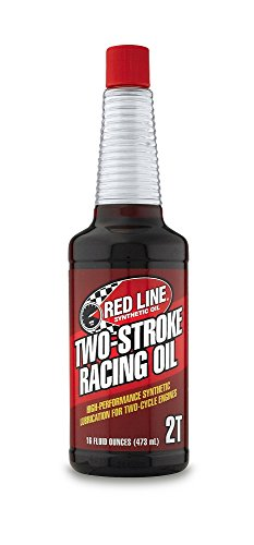 Red Line (40603-12PK) Two-Stroke Racing Motor Oil - Motorcycle High-Performance Synthetic Engine...