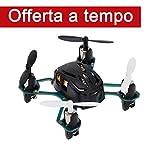 Hubsan H111 NANO Q4 Mini Quadricotteri RC Drone - più piccolo del Mondo (Nero)