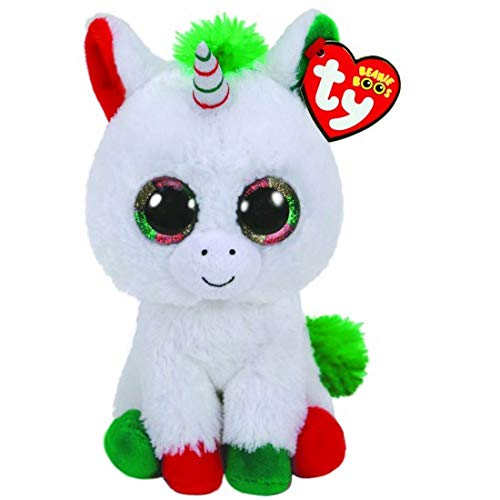 Ty Beanie Boos 6' Christmas Limited Edition Candy Cane, Perfect Plush!